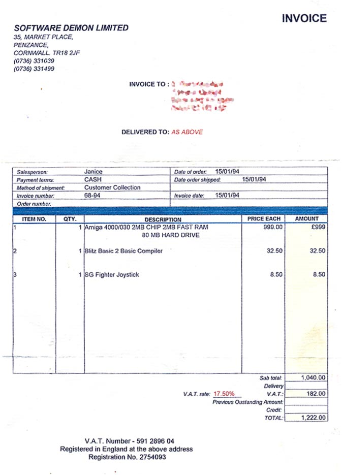 computer repair invoice template .